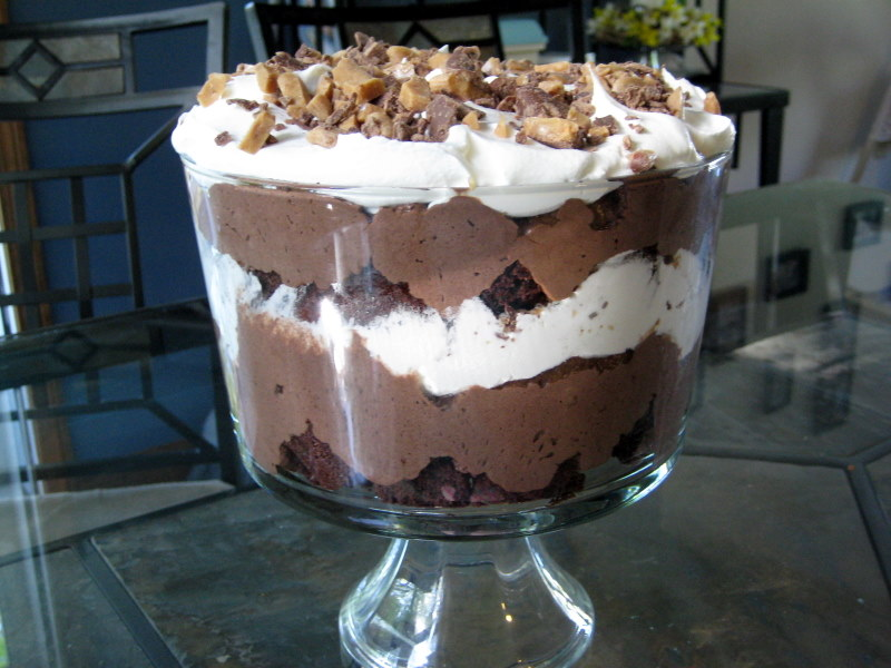 Kahlua Mousse Cake Recipe