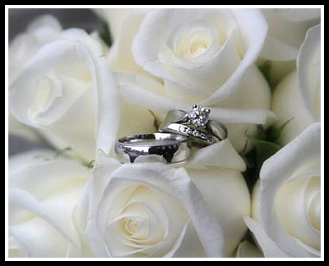 You will always see me wearing my engagement and wedding rings