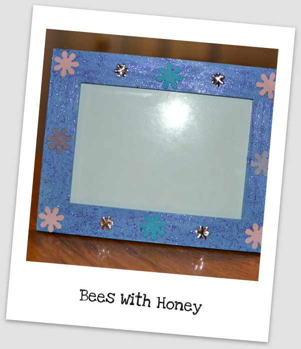 Funky Picture Frames Bees With Honey