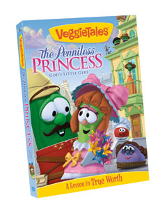 veggie tales: the penniless princess giveaway